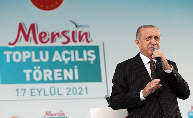 Başkan Erdoğan Mersin'de açıkladı! 'Amacımız ikinci ve üçüncü santraller'