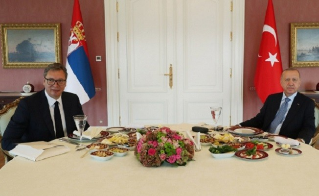 Başkan Erdoğan, Sırbistan Cumhurbaşkanı Vucic ile görüştü