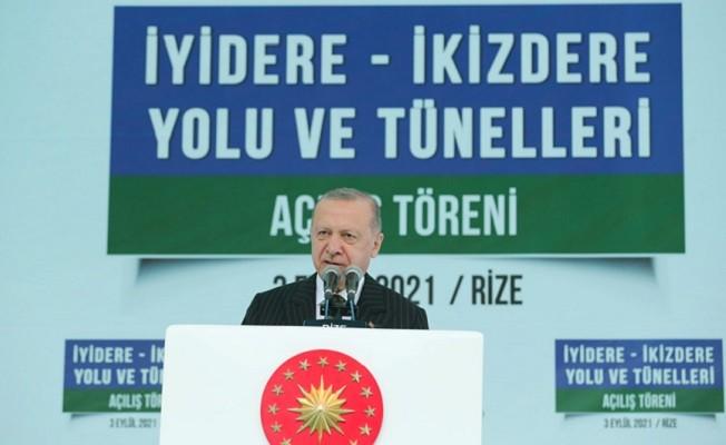 """Başkan Erdoğan """"Siz bu milletin önünü kesemezsiniz!"""""""