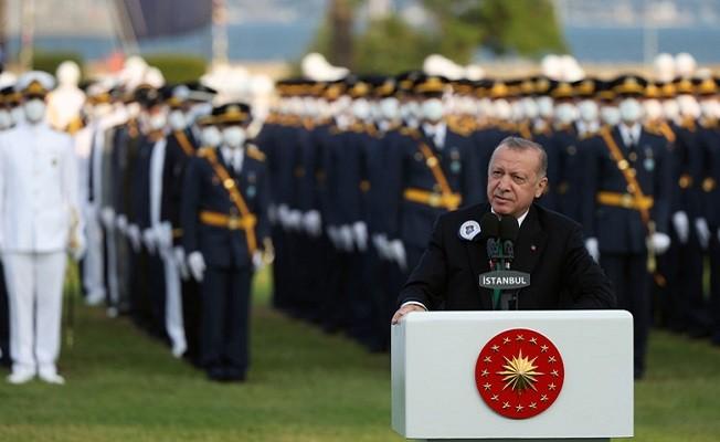 """Başkan Erdoğan: """"Yüreği Allah, vatan ve millet sevgisiyle dolu bir ordumuz var"""""""