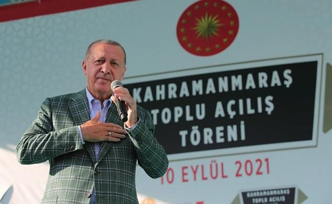 """Cumhurbaşkanı Erdoğan, """"Biz bu millete efendi değil, hizmetkar olmaya geldik"""""""