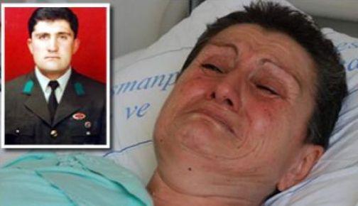 Acılı anne, teröristlerin kaçırdığı evladının acısına dayanamadı