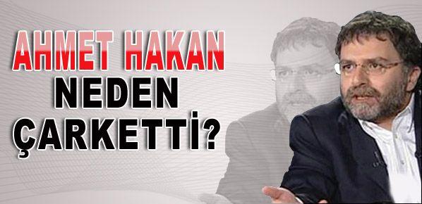 Ahmet Hakan'dan Şantaj Çarkı!