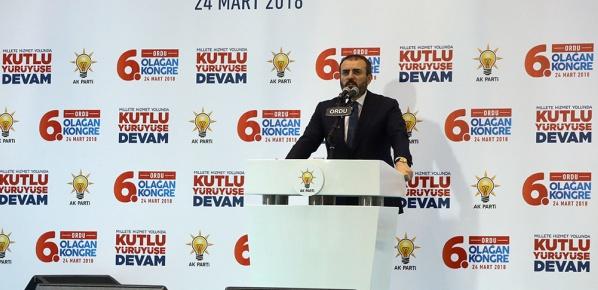 AK Parti, bizzat milletin kendisidir