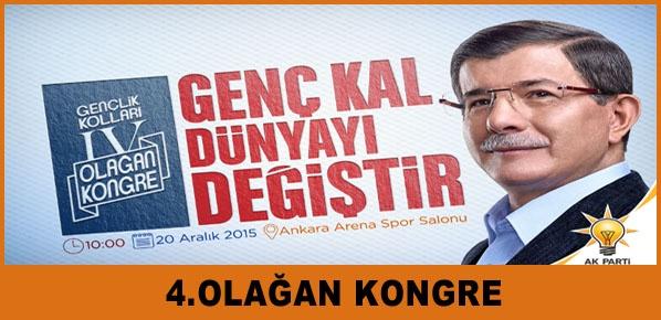 AK Parti'de 4.Olağan Kongre