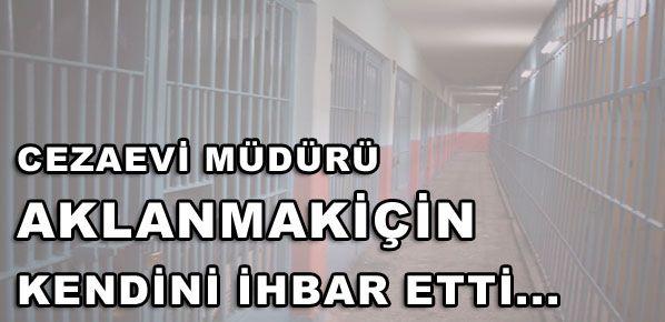 AKLANMAK İÇİN KENDİNİ İHBAR ETTİ...