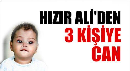 Ali'den 3 kişiye can!