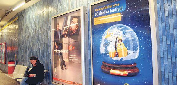 Almanya'da reklamlar Türkçe konuşuyor