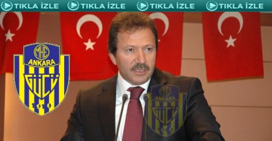 Ankaragücü yeni başkanı seçti....