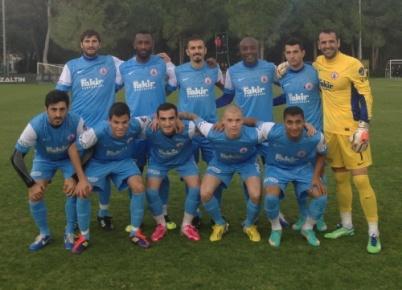Antalya'da hazırlık maçında İstanbul BBSK 4 - AZ Alkmar 1