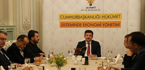 AR-GE Başkanlığı Cumhurbaşkanlığı Hükumet Sisteminde Ekonomi Yönetimi Çalıştayı Gerçekleştirdi