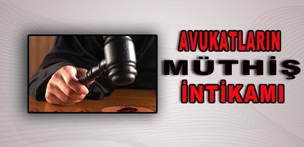 Avukatların müthiş intikamı