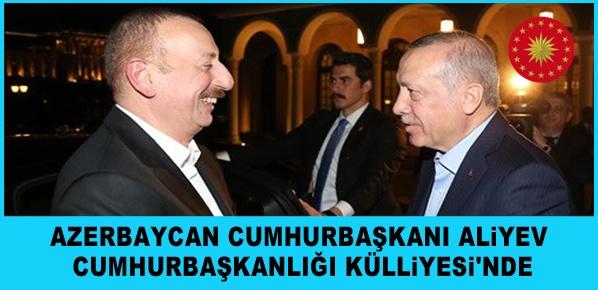 Azerbaycan Cumhurbaşkanı Aliyev Türkiye'de