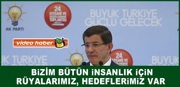 Başbakan Davutoğlu, AK PARTİ ORTAK AKIL HAREKETİDİR