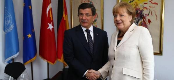 Başbakan Davutoğlu, Almanya Başbakanı Merkel ile telefon görüşmesi gerçekleştirdi