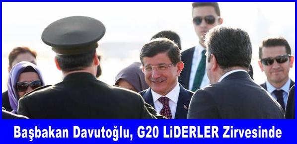 Başbakan Davutoğlu Antalya'da