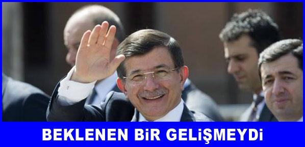 Başbakan Davutoğlu, Beklenen bir gelişmeydi