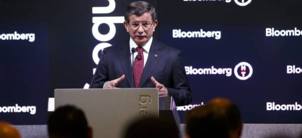 Başbakan Davutoğlu, Bloomberg ve Bloomberg HT kanallarının ortak yayınında soruları yanıtladı