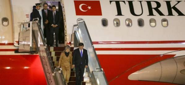 Başbakan Davutoğlu, Brüksel'de