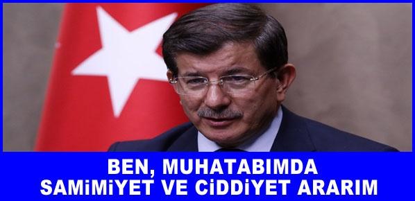 Başbakan Davutoğlu, Her türlü tedbiri alarak cevap veririz