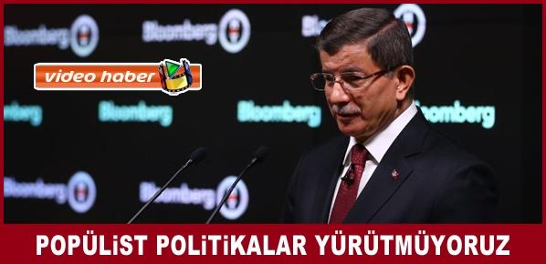 Başbakan Davutoğlu, Londra'da 16. Türkiye Yatırım Konferansı'nın açılışında konuştu