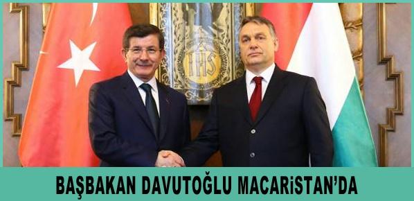 Başbakan Davutoğlu Macaristan'da