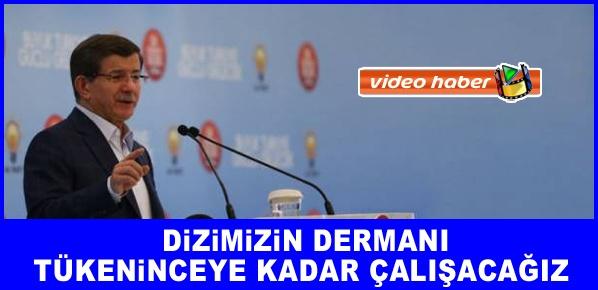 Başbakan Davutoğlu, Sırat-ı müstakimde yola devam edeceğiz.