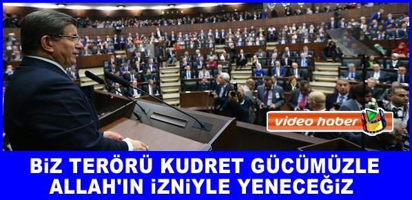Başbakan Davutoğlu, MİLLETİMİZE VERDİĞİMİZ SÖZ BAKİDİR