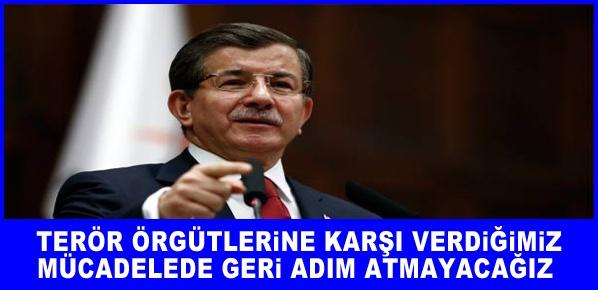 Başbakan Davutoğlu, Terör ve şiddet karşısında 78 milyon vatandaşımızla bir ve beraberiz.