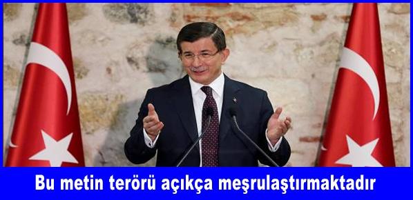 Başbakan Davutoğlu: YÖK sistemini acilen yeniden inşa etmeliyiz