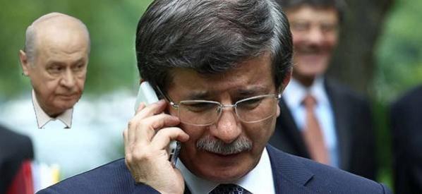 Başbakan Davutoğlu'ndan Bahçeli'ye geçmiş olsun telefonu