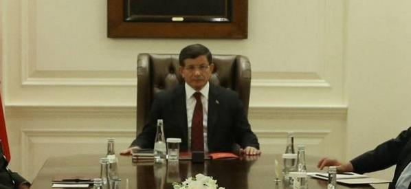 Başbakan Davutoğlu'nun başkanlığında değerlendirme toplantısı düzenlendi