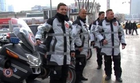 Başbakanlık motorize timlerine yeni kıyafet