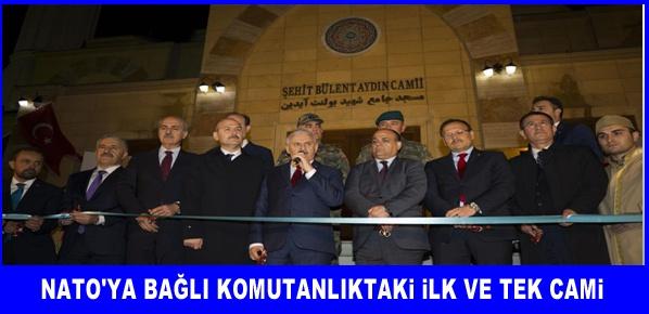 Başçavuş Bülent Aydın Camisi'nin açılışını yaptı.