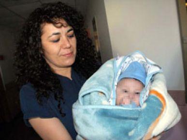 Bebeğin annesi ortadan kayboldu
