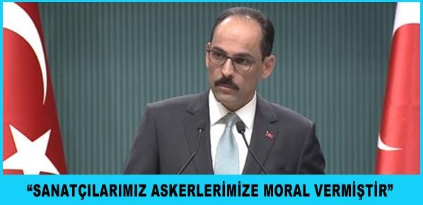 Bu Türkiye'nin kendi egemen kararıdır