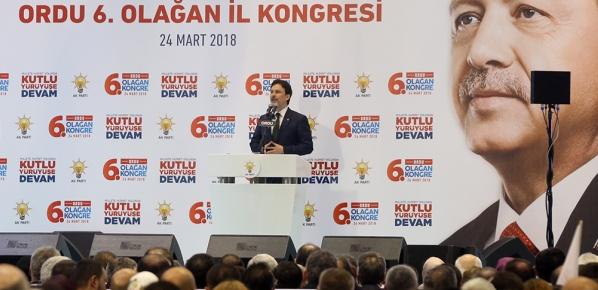 Bugün Türkiye, bütün mazlum ve mağdur milletlerin umududur