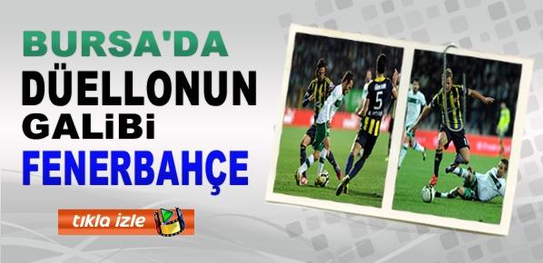Bursa'da düellonun galibi Fenerbahçe