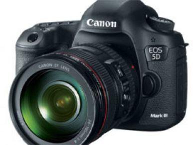 Canon Mark III sonunda geldi