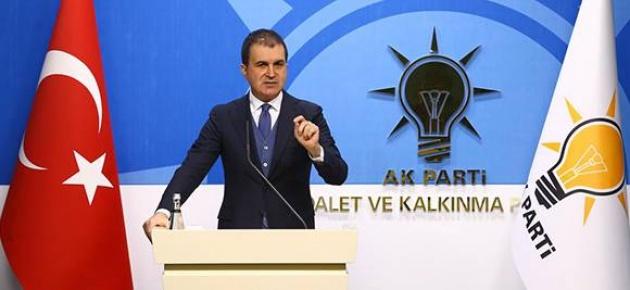 """Çelik,  """"PYD-YPG Suriye'de Esad rejiminin desteği ile mevziler elde etti"""""""
