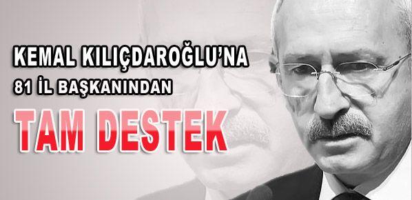 CHP tabanından Kılıçdaroğlu'na destek