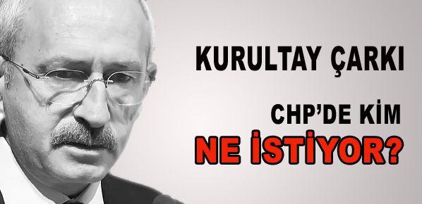 CHP'de şimdi de kurultay çarkı