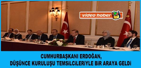 Cumhurbaşkanı Erdoğan, ABD'deki temaslarına başladı