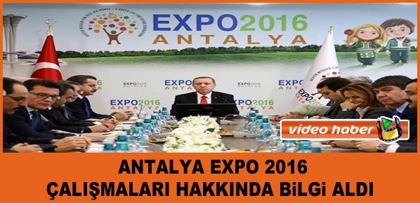 Cumhurbaşkanı Erdoğan,  Antalya'ya gitti.