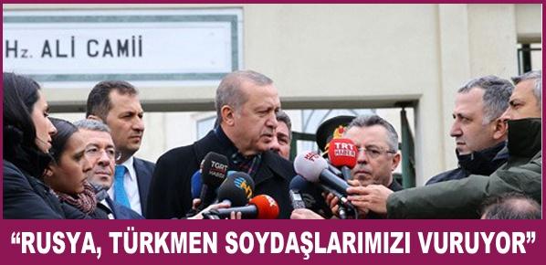 """Cumhurbaşkanı Erdoğan, """"Başika'daki Askerlerimiz Her Şeye Karşı Hazırlıklı"""""""