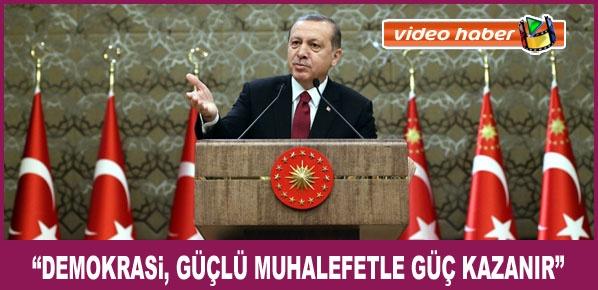 """Cumhurbaşkanı Erdoğan, """"Bürokratik Oligarşi Ülkelerin Felaketidir"""""""