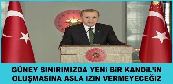 """Cumhurbaşkanı Erdoğan, """"DAEŞ ile En Ciddi Mücadele Yürüten Ülke Türkiye'dir"""""""