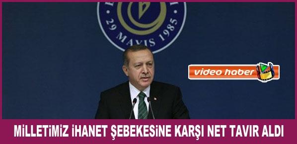"""Cumhurbaşkanı Erdoğan, """"DAEŞ, PYD ve YPG Suriye'deki Küresel Güç Mücadelesinin Aracıdır"""""""