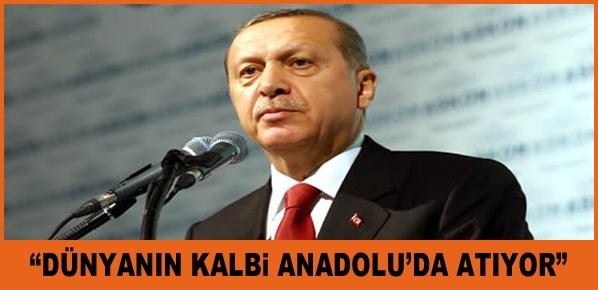 Cumhurbaşkanı Erdoğan, Lafla Türkiye partisi olunmaz, icraatla olunur.