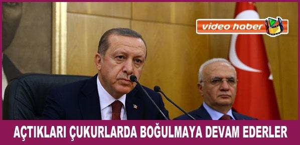 """Cumhurbaşkanı Erdoğan, """"Malum Eş Başkanın Yaptığı Provokasyon ve İhanettir"""""""
